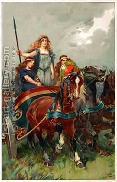 boudicca and her revolt The revolt was initially successful, with colchester, london and st albans brutally sacked eventually boudicca's army was defeated by a roman force under seutonius paullinus, after which boudicca is said to have committed suicide by taking poison this bronze statue by thomas thornycroft depicting her in a chariot.