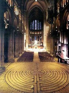 Labyrinth Chartres Cathedral