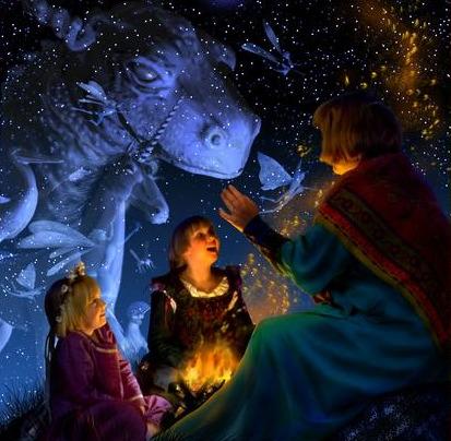 good dragons in mythology stories